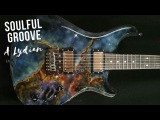 Soulful Hypnotic Groove  Guitar Backing Track Jam in A