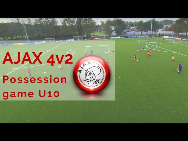 AJAX 4v2 Possession game