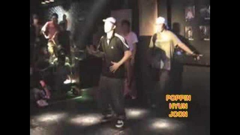 Poppin Hyun Joon at a Club