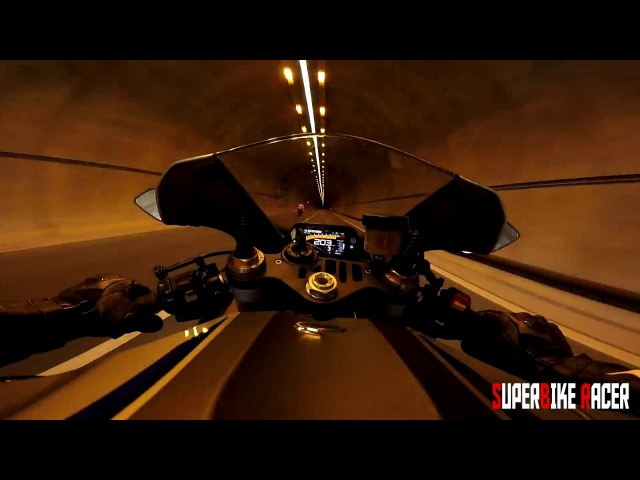 Yamaha R1 M 2016 Highway Ride Gimbal GoPro Action Camera