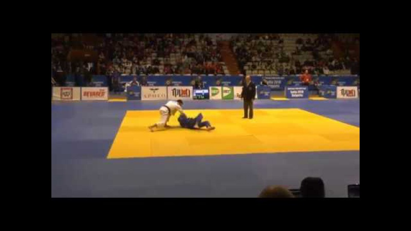 European Judo Open Sofia 2018: CHASYGOV Ismail (Russia) - MENAGED Yarin (Israel)