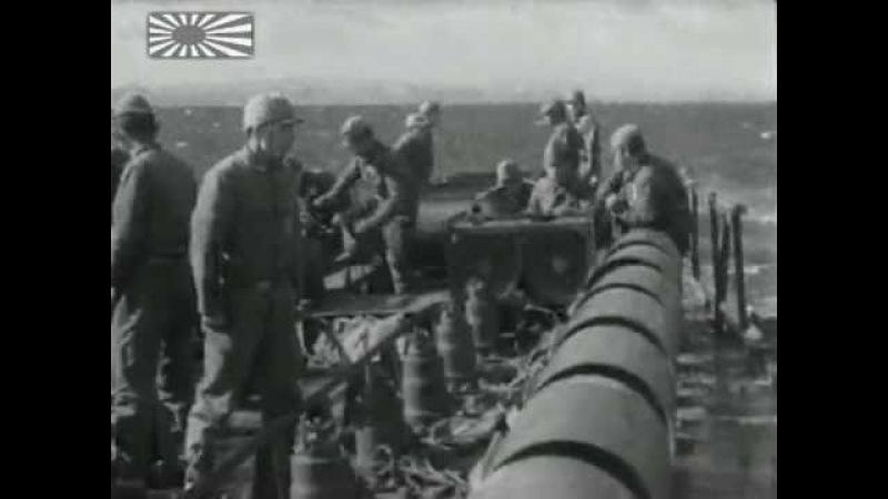 Imperial Japanese Navy Anti Submarine Warfare - Aichi E13A1 ASV Radar Escort Ships - June 1945