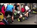 Пискарев Александр - Жим в слинге Т-90 (два слоя) 350 кг
