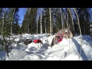Зимний выход на Кайзас с новым снаряжением: палатка и печка Арктика и