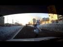 Чуть не сбил пешехода. пр.Победы Комсомольск-на-Амуре