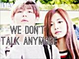 TWICE Tzuyu X BTS V I We don't talk anymore