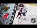 Minnesota Wild vs New Jersey Devils – Feb. 22, 2018 Game Highlights NHL 2017/18. Обзор