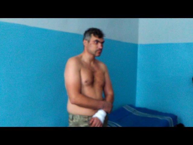 Экспресс допрос пленного укронациста