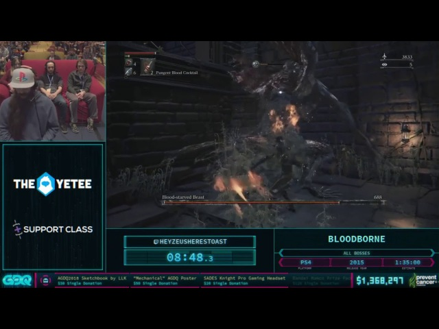 Bloodborne HeyZeusHeresToast AGDQ 2018 In 1 37 49 HD