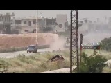 الجيش السوري يستلم عدة مدرعات من الإرهابي&#16