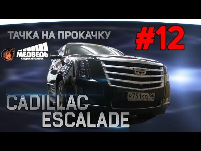 12 Тачка на прокачку Cadillac Escalade СТУДИЯ МЕДВЕДЬ
