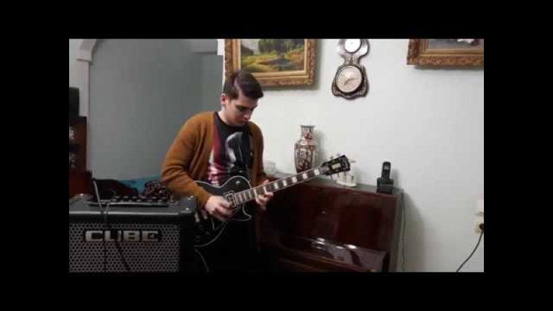 Edward Master Of Puppets solo Metallica Cover