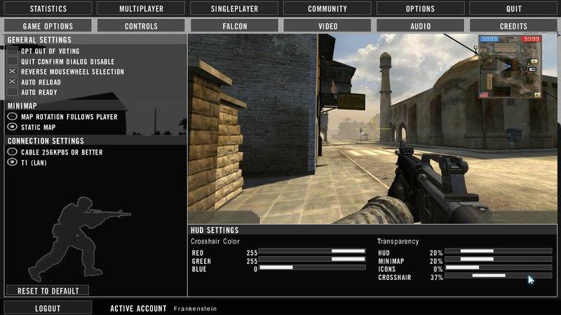 GLOBAL WAR (NEW GAME OPTIONS)   BF2 Mod