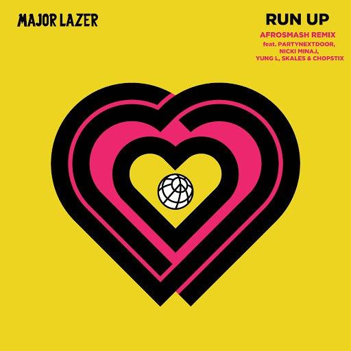 Major Lazer альбом Run Up (feat. PARTYNEXTDOOR, Nicki Minaj, Yung L, Skales & Chopstix) [Afrosmash Remix]