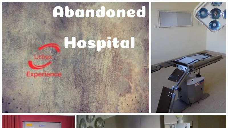 Аandoned hospital with mortuary