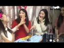 171220 MinHees Instagram Live 01 feat GaYoung HyoEun Jeonyoul Fit Mobile With Chat Ver