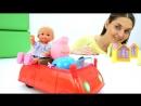 Куклы БАРБИ и ШТЕФФИ в магазине. ШТЕФФИ потерялась! Видео для детей с игрушками