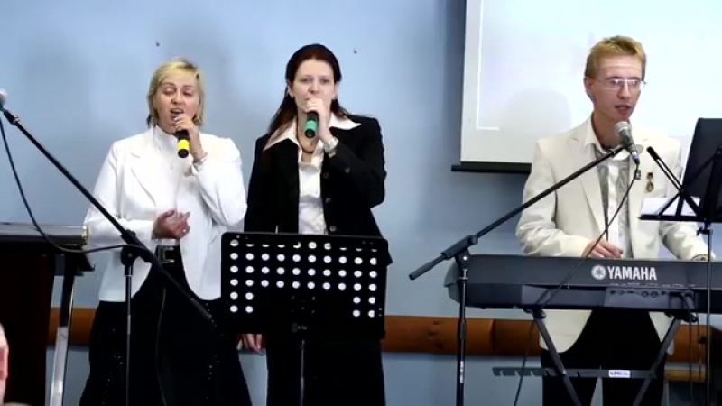 Группа Надежда в церкви Единство 16.09.2012.mp4.mp4