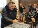 Жерар Депардье проголосовал на президентских Выборах-2018