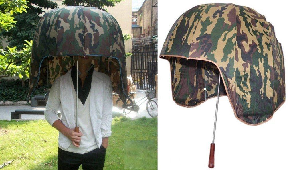 Зонт-шлем