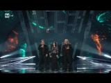 Roby Facchinetti e Riccardo Fogli con Giusy Ferreri - Il segreto del tempo (Quarta serata Sanremo 2018)
