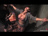 Huge titted femdom bitch Christina Carter gets fucked and whipped in BDSM