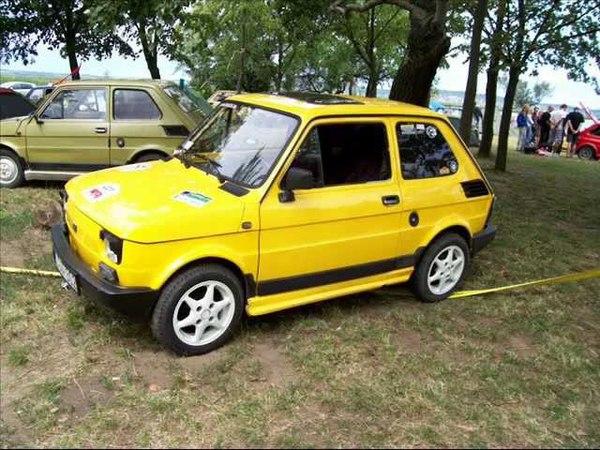 Polski Fiat 126 nemzetközi találkozó 2012