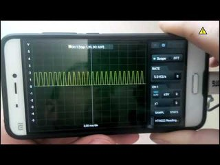 Подключаем осциллограф к смартфону