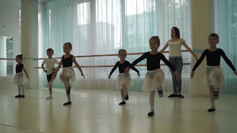 Бабочки открытый урок по классическому танцу