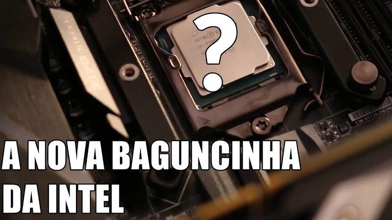 UM NOVO CPU INTEL: UMA POSSÍVEL RESPOSTA AOS RYZEN?