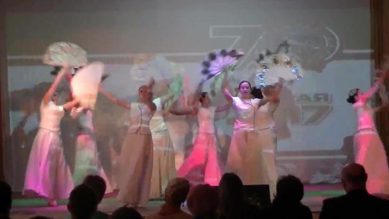 Танец павлина - 2 место в городском фестивале Студенческая весна