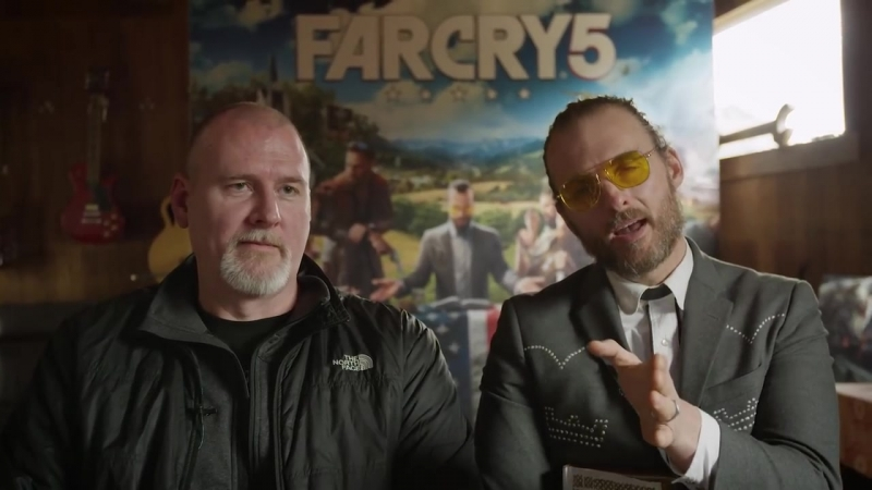 Far Cry 5 Father Character Interview (Greg Bryk)