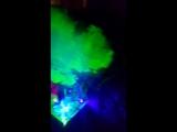 Лазерная подставка под кальян со светодиодной подсветкой колбы с пультом