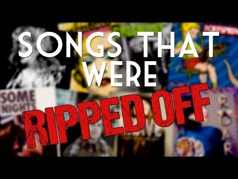 Songs That Were Ripped Off - One Minute Mashup 23