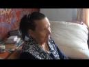 Видеоотчет о вручении открытки ветерану