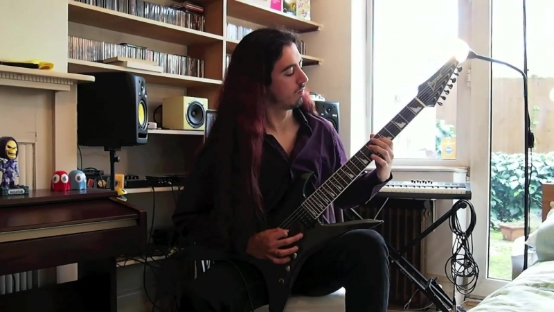 God of Impiety - Old Man's Child (guitar cover)