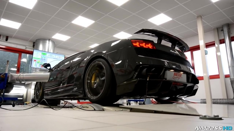 Lamborghini Gallardo Superleggera with Tubi Dyno
