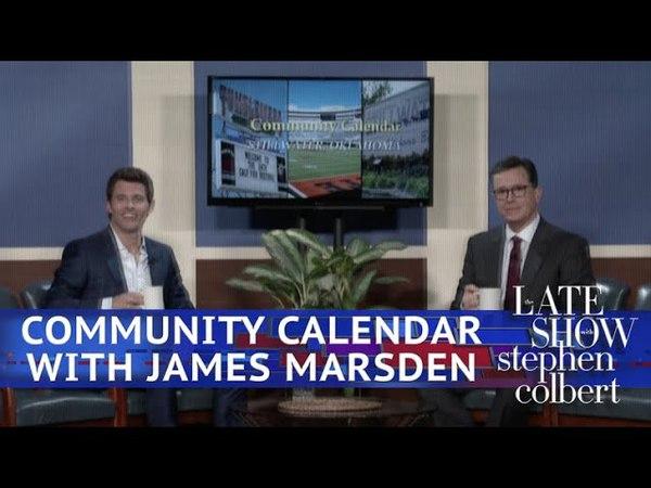 Stillwater, Oklahoma's Community Calendar With James Marsden