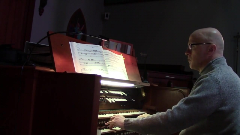 618 J. S. Bach - O Lamm Gottes, unschuldig (Orgelbüchlein No. 20), BWV 618 - Mark Pace