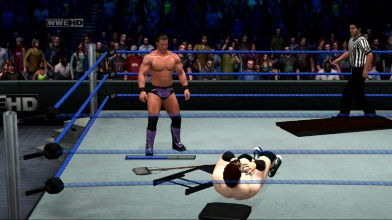 WWE SvR 2011 Chris Jericho vs Sheamus (PS3)