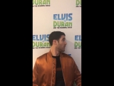 Darren Criss' Twitter Annnnnnd this morning.... Elvis Duran Show