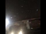 Павел Воля «радуется» снегу в октябре