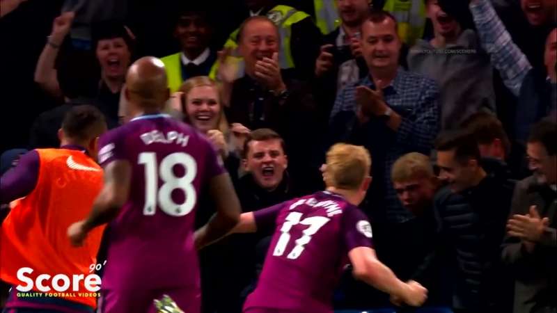 Kevin De Bruyne - A Genius Of The Game 201718