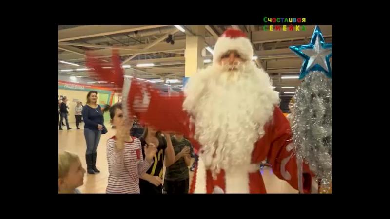 Новогодняя ёлка на роликах от телеканала СТС Магнитогорск