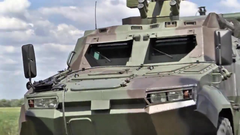Прикордонники показали бойові можливості «Тритона» .
