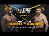 UFC FIGHT NIGHT WINNIPEG Jared Cannonier vs Jan Blachowicz