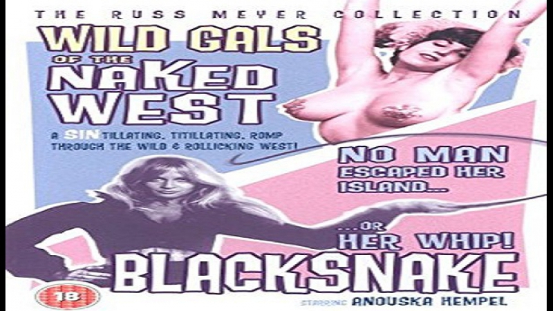 1962 Russ Meyer Wild Gals of the Naked West Russ Meyer Jackie Moran Anthony‑James Ryan Frank Bolger Sammy Gilbert