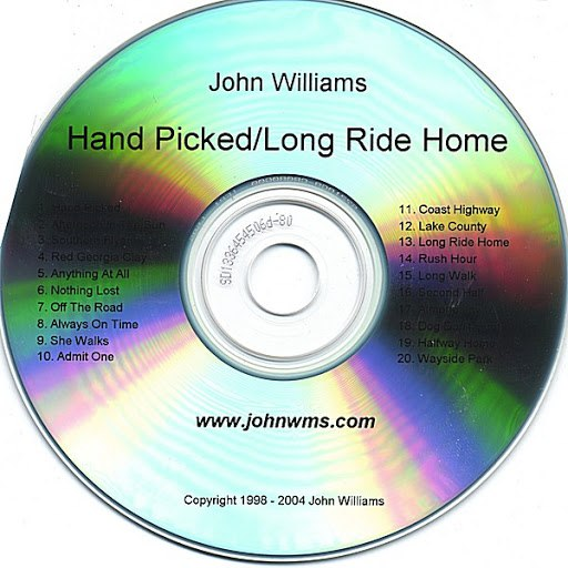 John Williams альбом Hand Picked/Long Ride Home