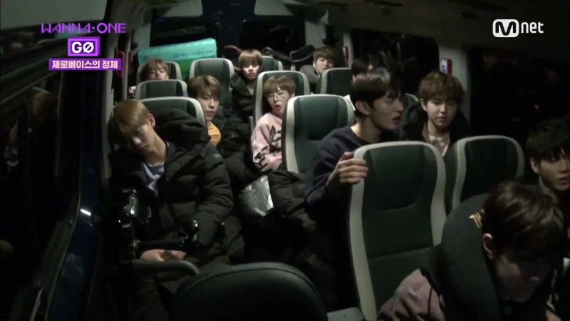 171103 Wanna One Go: Zero Base EP.1 - Где мы...? Wanna one,которые идут темным и глубоким путем