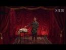 Театр скрытых талантов актриса Люпита Нионго показывает как правильно сложить простыню на резинке
